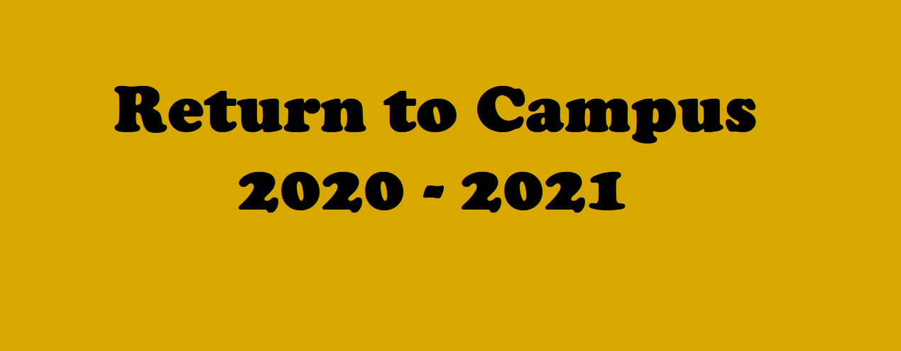 return to campus logo