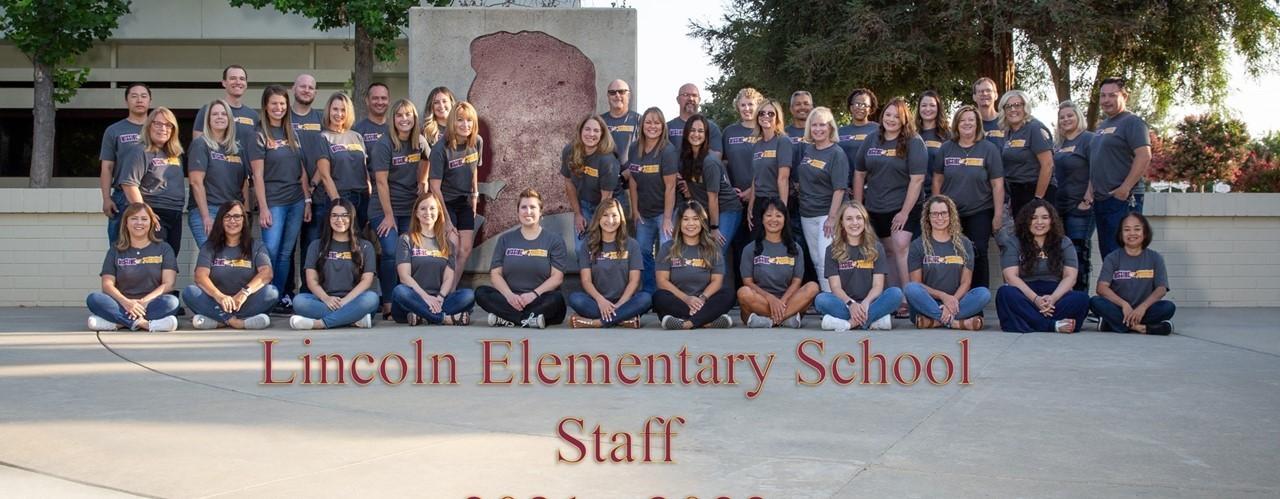 All 2021 Lincoln Elementary School Staff